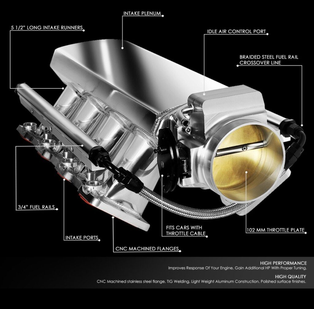Throttle Body For ls6 Intake